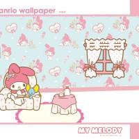 Wallpaper gambar my melody 3