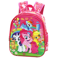 Tas Ransel TK Import Little Pony Flower 5D Timbul Hologram - Pink(02)