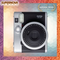 Fujifilm Instax Mini 90 Neo Classic Kamera Instant Polaroid - Hitam