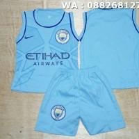 Harga singlet kaos baju bola bayi anak manchester city home 16 | antitipu.com