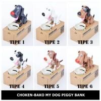 Jual Celengan Choken Bako - Celengan Anjing Pemakan Koin Murah