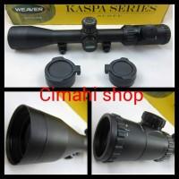 Riflescope Weaver Kaspa Series 3-12x44 AOE Original Produk