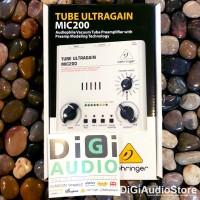 BEHRINGER TUBE ULTRAGAIN MIC200 [ MIC 200 ] Microphone PreAmplifier