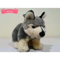 Boneka Anjing Siberian Husky Cantik