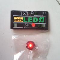 LED Gundam 1/100 Daban Model RED Merah Universal Exia OO Raiser RX 93