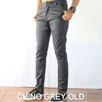 Jual Celana Chino Abu  | Grey Murah
