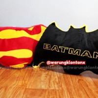 Jual Bantal 3D Superhero Batman Superman Sni Murah