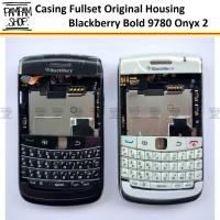 Casing Fullset Blackberry Onxy 2 BB Bold 9780 Original Housing Kesing
