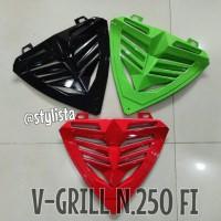 harga V Grill / V-grill Ninja 250 Fi Aksesoris Motor Murah Tokopedia.com