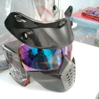 Goggle Mask Helm Bogo Pelangi