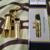 Mouthpiece soprano & baby sax motpis Sopran Metal Jeff France No 6