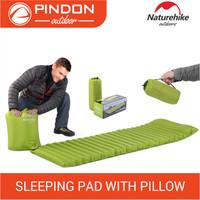 Matras Angin Naturehike / Sleeping Pad With Pillow Nh16d003-d