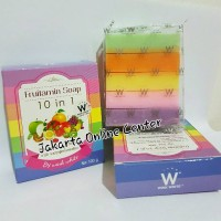 Fruitamin Soap 10in1 by Wink White / Ori Thailand / Sabun Pemutih
