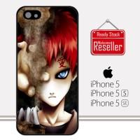 Gaara Naruto anime Z0552 iPhone 5, 5S, SE Casing Premium Hardcase