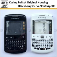 Casing Fullset Full Set Blackberry Curve 9360 BB Apollo ORI Cina Case