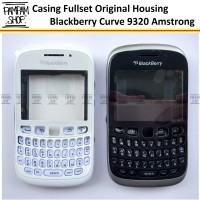 Casing Fullset Blackberry BB Amstrong Curve 9320 Original Housing 100%