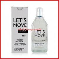 Parfum Original Benetton Lets Move Man (Tester)
