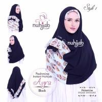 Hijab Praktis Modis 1 Jilbab 2 Gaya Pashmina Instan Nuhijab PIN AYRA
