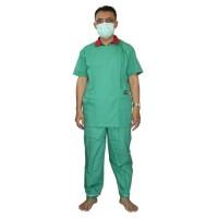 Baju Operasi+Celana Set Hijau OneMed