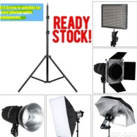 Terbaik! Tripod lampu studio foto universal