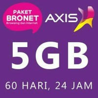 PAKET INTERNET AXIS BRONET 5GB