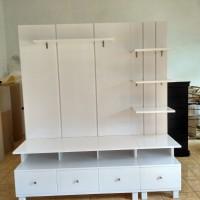 Lemari tv, lemari minimalis, partisi ruangan, model lemari tv