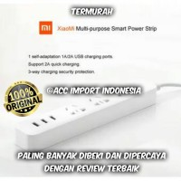 Jual Stop Kontak Xiaomi Mi Smart Power Strip Plug Adapter with 3 USB Port Murah