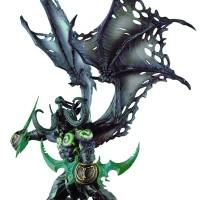 Figure PVC Game Online Warcraft Hero Illidan Stormrage Metamorp Ver