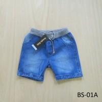 Celana Pendek / Hot Pants Anak Laki-laki Bahan Jeans - BS01