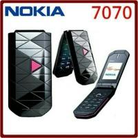 HP NOKIA HANDPHONE 7070 CLASIC GARANSI FRE KABEL CARGER PRISM LIPAT