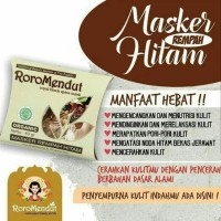 RORO MENDUT MASKER REMPAH HITAM