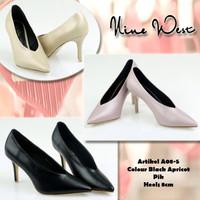 sepatu ninewest , sepatu mirror ,highheels Import premium