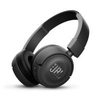 JBL Wireless On-Ear Headphone T450BT - Hitam