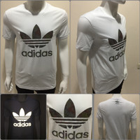 Tshirt/Kaos Adidas Original China Import White #508
