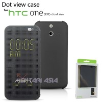 Dot View Flipcover For Htc One E8 Dual Sim ( + Free Sp)