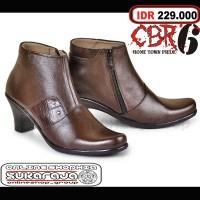 Jual Sepatu Pantofel Heels Boots Wanita Boot Formal Cewek Kerja Cibaduyut Murah