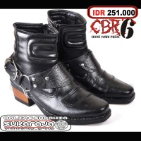 Jual Sepatu Pria Boot Biker Boot Touring Cowok Adventure Motor Cowboy Macho Murah