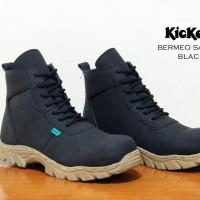 harga Sepatu Pria Kickersa Bermeo Boots Safety Made In France Asli Import Tokopedia.com