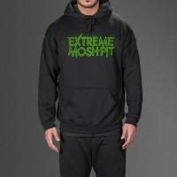 Hoodie Extreme Moshpit - Hitam - DEALDO MERCH