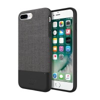 Jack Spade iPhone 7 Plus Case Credit Card - Tech Oxford Gray/Black