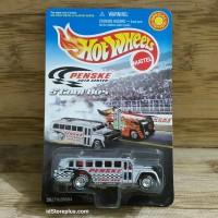 HOT WHEELS PENSKE AUTO CENTER S'COOL BUS Silver Special Edition
