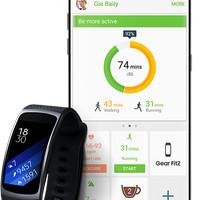 Samsung Gear Fit 2 - Large - Hitam PROMO
