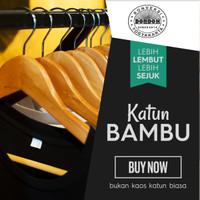 Kaos Polos Bahan Cotton Bambo Banyak Pilihan Warna Murah