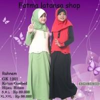 harga Rahnem Gk 1201 Diskon 15% /busana Muslim/dress/gamis Anak Tokopedia.com