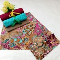 kain batik primis semi tulis + kain embos