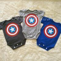 jumper bayi / jumpsuit/romper bayi/captain america