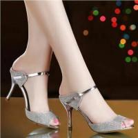 Heels Silver LJ05
