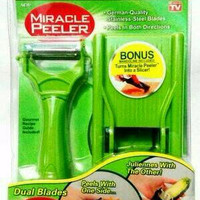 Jual Miracle Peeler 2 in 1 / Pengupas Buah dan Sayuran Serba Guna Murah