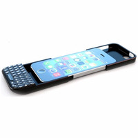 Jual Jual Typo QWERTY Blackberry Keyboard Bluetooth Case Casing iPhone 5 / Murah