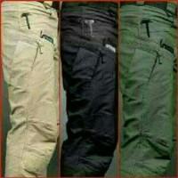 Celana Tactical Hitam Premium